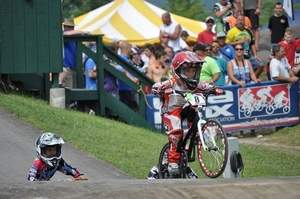 BMX racer Cassidy Hall competed in the Empire State Nationals in Kingston, N.Y., Friday through Sunday. / Photo courtesy of John Hall